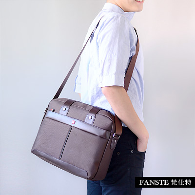 Fanste_梵仕特 側背包 電腦公事商務包-1345