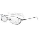 SWAROVSKI-時尚光學眼鏡(銀色)SW5010