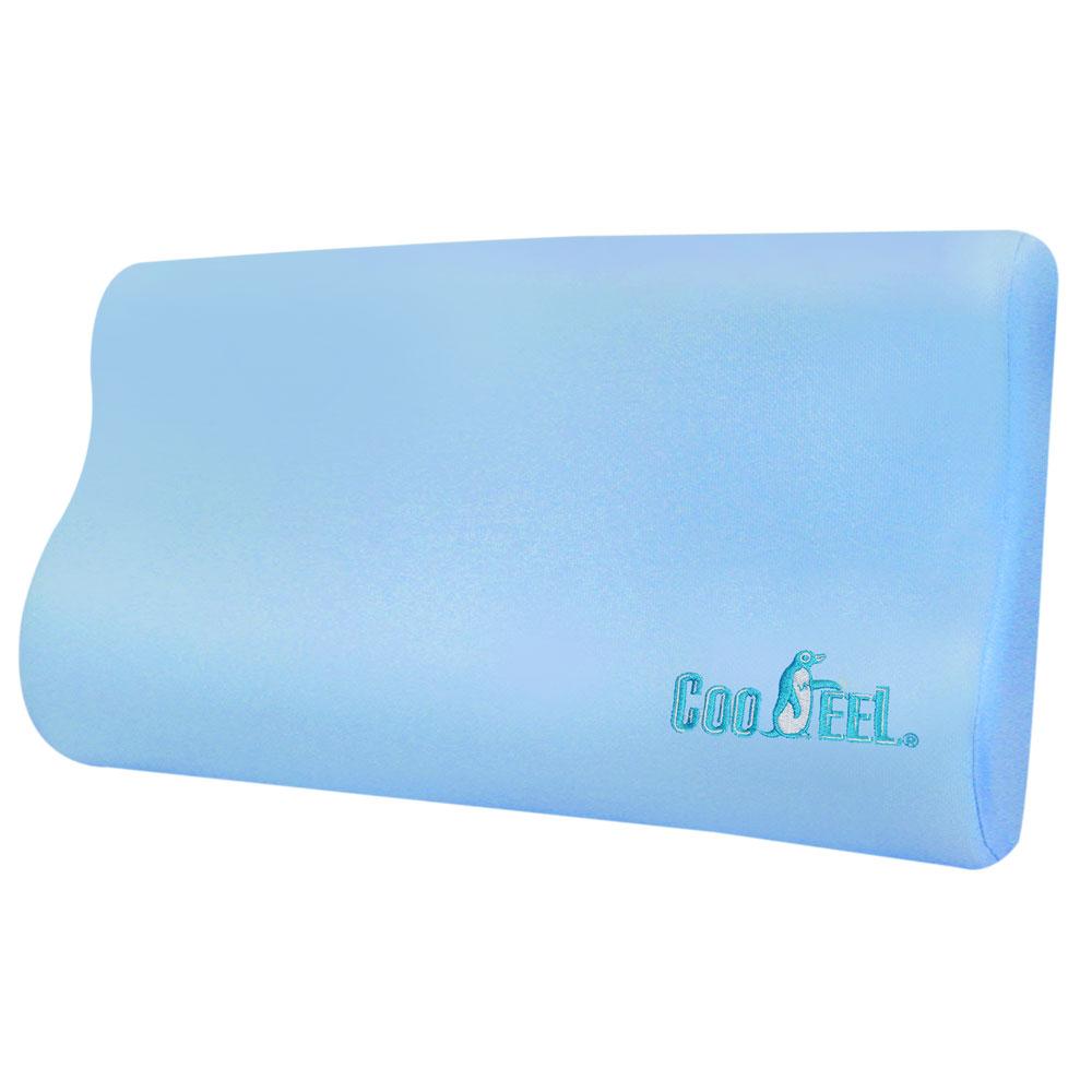 【CooFeel】台灣製造高級酷涼紗高密度酷涼記憶枕