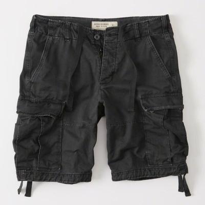AF a&f Abercrombie & Fitch 短褲 灰色 006