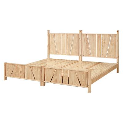 Bernice-依尼3.5尺可拆式全實木雙層床架