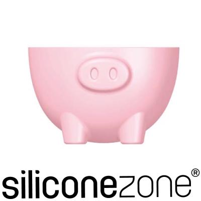 Siliconezone 施理康耐熱矽膠粉紅小豬造型烤杯(2入裝)