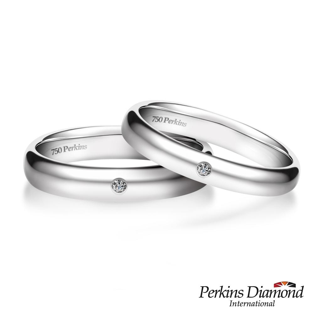 PERKINS 伯金仕 - Classic系列鑽石對戒