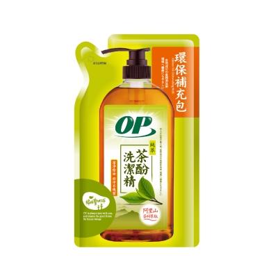 OP純萃茶酚洗潔精補充包(800g)
