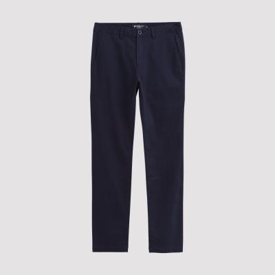 Hang Ten - 男裝 - 經典純色高彈長褲 - 藍