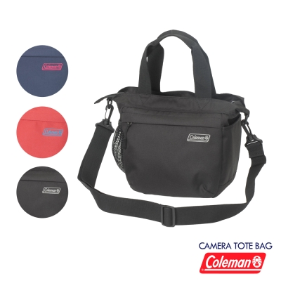 Coleman 休閒/相機 托特包 Tote Bag -黑色
