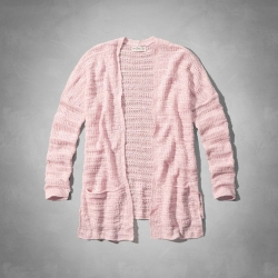 AF a&f Abercrombie & Fitch KID 罩衫 粉紅 0048