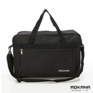 AOKANA奧卡納 MIT台灣製 YKK拉鍊 戶外休閒防潑水旅行袋 衣物袋(黑)426