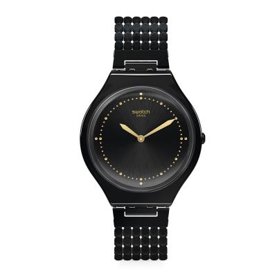 Swatch 狂歡夜系列 SKINGALA S手圍 超薄狂歡手錶-36.8mm