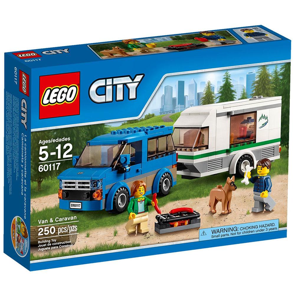 LEGO樂高 城市系列 60117 篷車與露營車