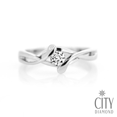 City Diamond『幸福導航』18分鑽戒