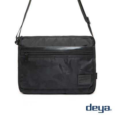 後背包-deya都會叢林-暗黑迷彩側背包