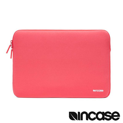Incase Neoprene Classic 15 吋經典潛水硬挺內袋 (紅色)