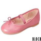Bloch 澳洲蝴蝶結芭蕾舞鞋 珊瑚紅款