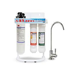 EssenPure水蘋果 便捷式三道立架淨水器搭配3M EP25 濾心