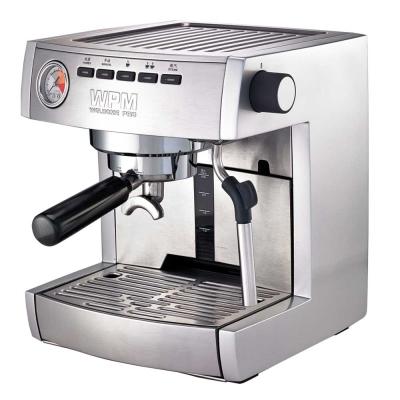 惠家-WPM-義式半自動咖啡機KD-135B-銀色-HG0964S