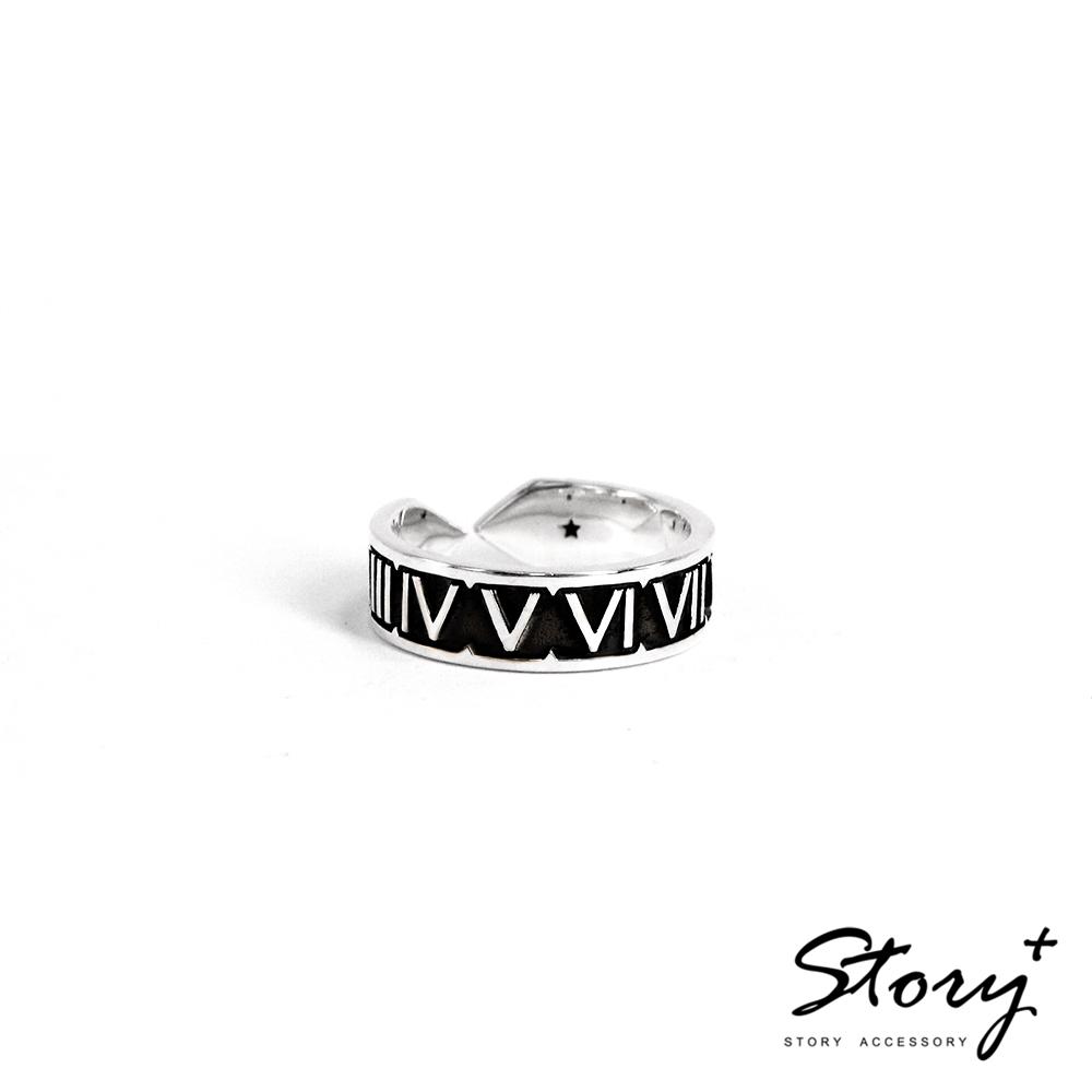 STORY故事銀飾-手工客製化精品-填言密語系列 戒指(男款)
