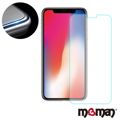 Mgman iPhoneX 0.3mm9H玻璃保護貼