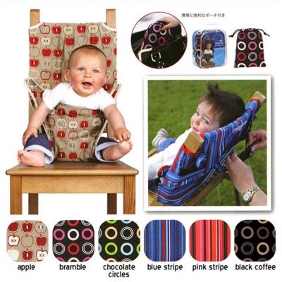 DF 童趣館 - 可攜式兒童餐椅安全帶安全椅套-共6色