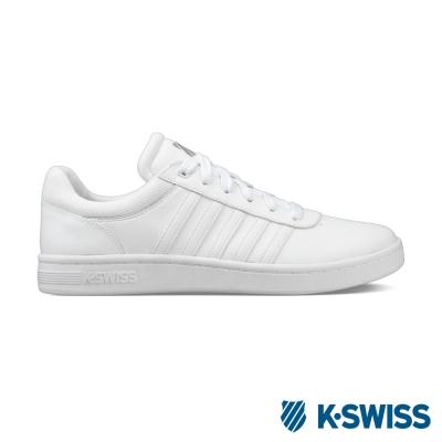 K-Swiss Court Cheswick休閒運動鞋-男-白