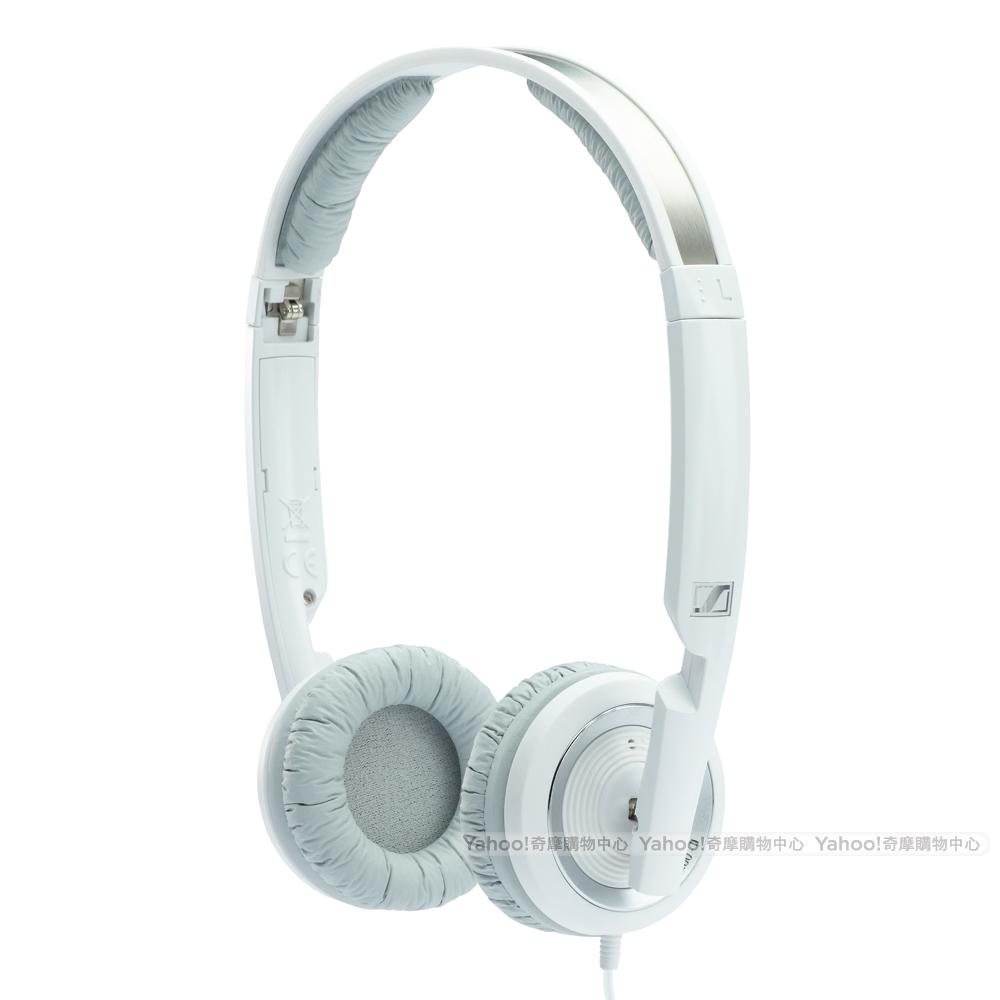 SENNHEISER PX200 II 封閉式 摺疊耳機 白色版