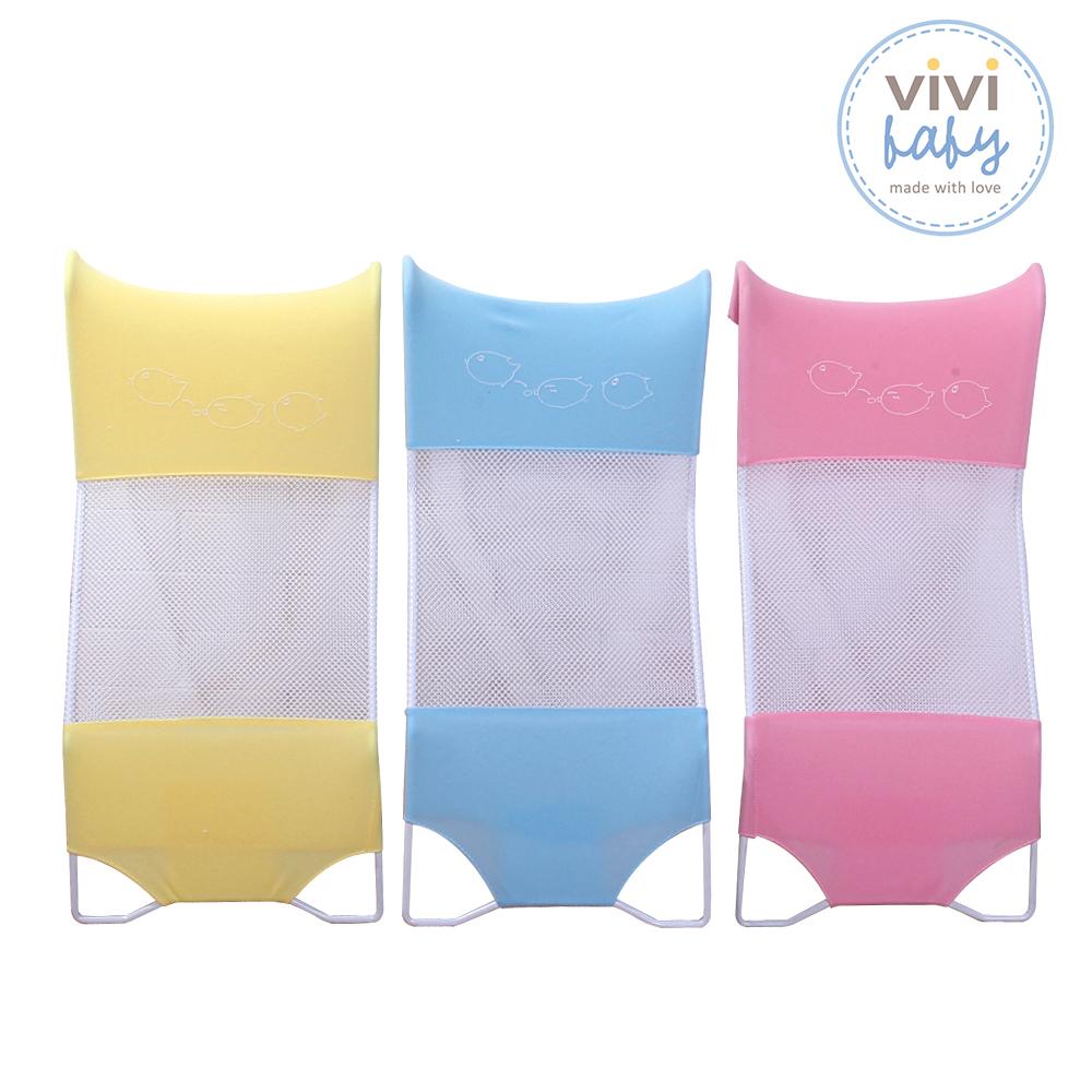 ViVibaby 感溫沐浴床 藍/綠/黃共三色 (隨機出貨)