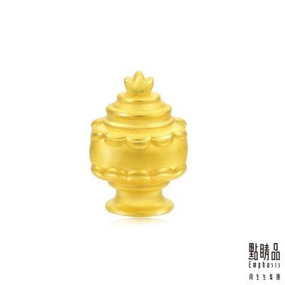 點睛品 Charme 文化祝福 八瑞相寶瓶 黃金串珠