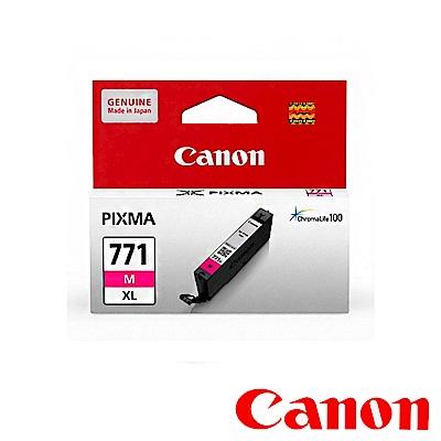 Canon CLI-771XL M 原廠紅色高容量墨水匣