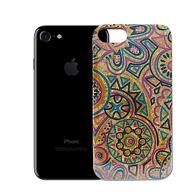 COOYA iPhone 6/6s/7/8 炫彩木紋系列手機保護殼