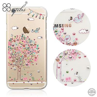 apbs iPhone6s/6 Plus 5.5吋 施華洛世奇彩鑽手機殼-相愛