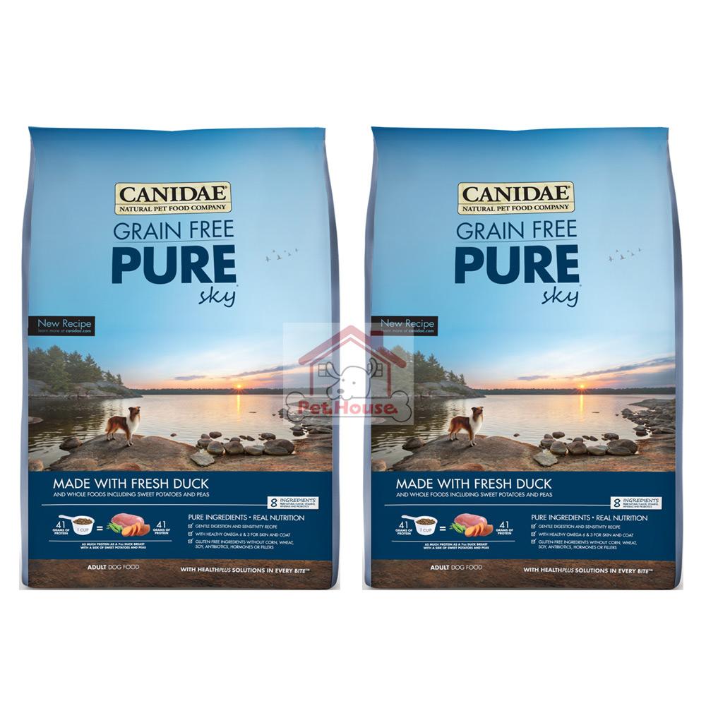 Canidae卡比 頂級無榖 P&E鴨肉+火雞肉 4磅 X 2包