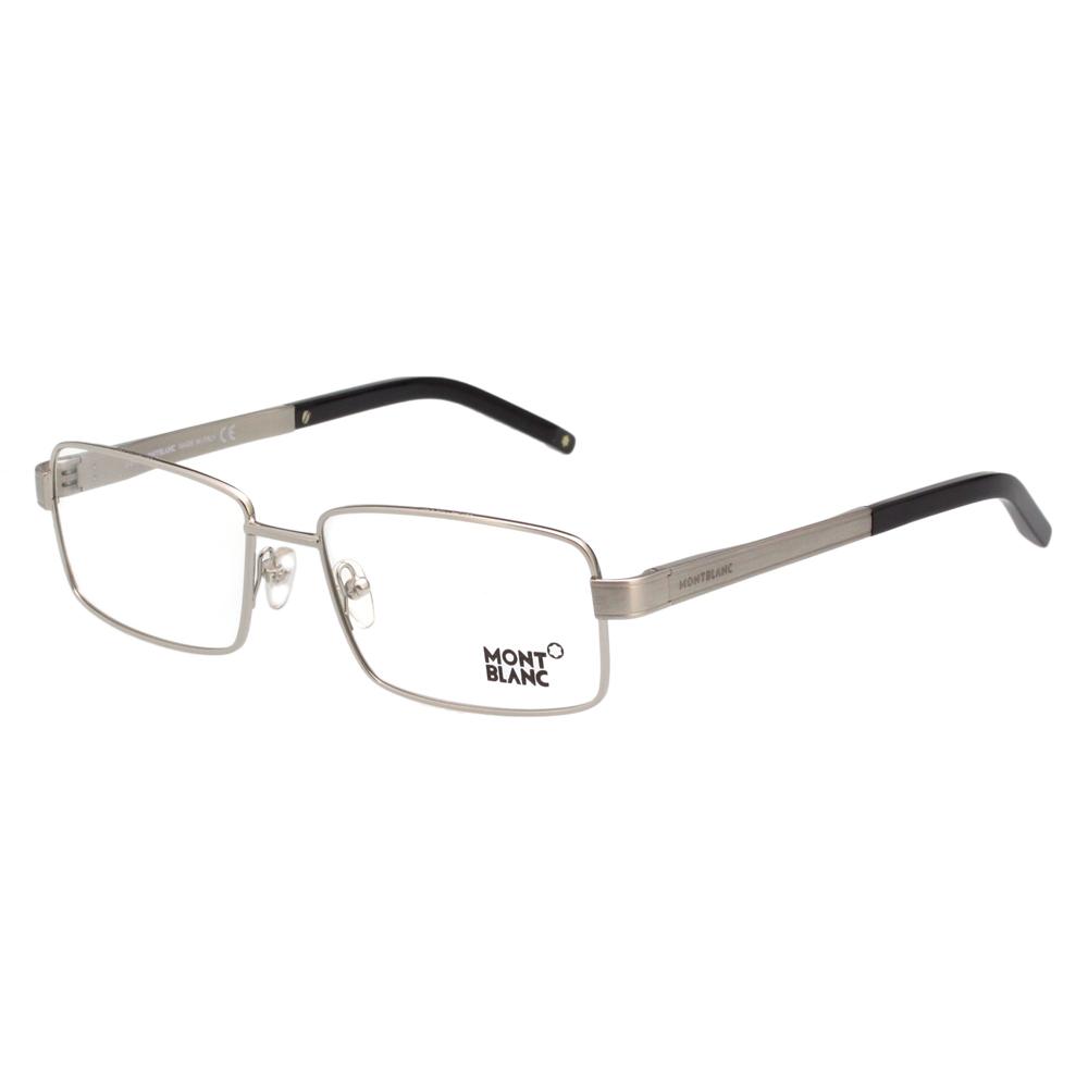 萬寶龍 MONTBLANC-時尚光學眼鏡(銀色)MB304