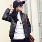 【N.C21】抽繩下擺輕盈保暖鋪棉外套 (共二色)