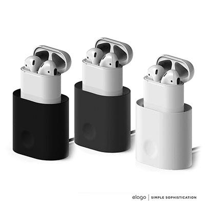 elago AirPods 充電盒立架充電座