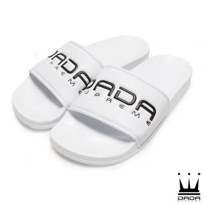 DADA A.D.A.N. 潮流運動拖鞋-女-白