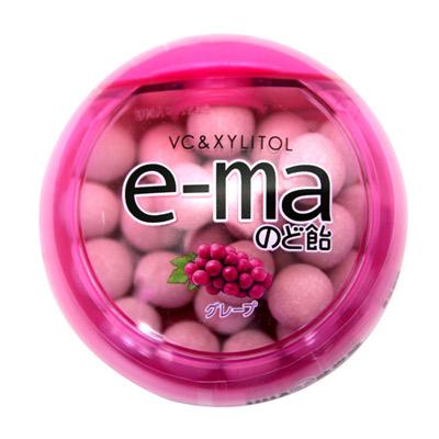 UHA味覺糖 e-ma葡萄喉糖(盒裝)(33g)