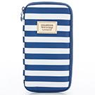 VOVAROVA空氣包-環遊世界護照夾-經典條紋(藍)
