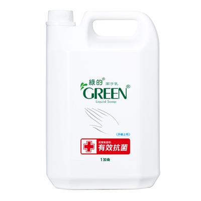 綠的GREEN 抗菌潔手乳-加侖桶3800ml