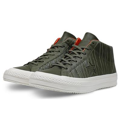 CONVERSE-男休閒鞋158836C-橄欖綠