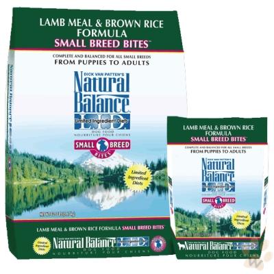 Natural Balance 低敏羊肉糙米配方(小顆粒)犬糧4.5磅