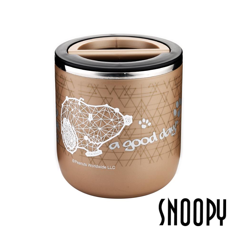 SNOOPY史努比 奢耀保溫餐桶950ml(快)