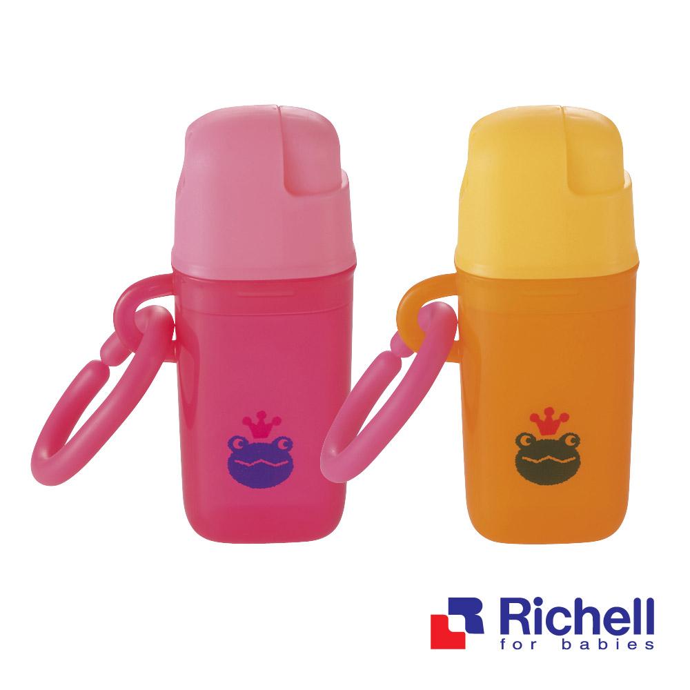 Richell日本利其爾 小饅頭餅乾置放盒-兩色可選