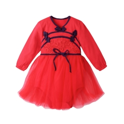 baby童衣 蕾絲緞帶中國風造型包屁裙 70128