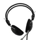 Lupuss 頭戴可調式立體聲耳機麥克風(LPS-1009)