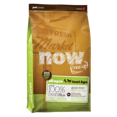 Now! 鮮肉無穀天然糧 小型犬配方(12磅) WDJ推薦