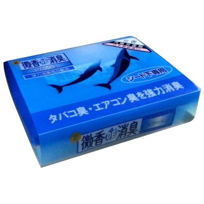 日本雞仔牌-DE長型座椅下花香消臭盒F-40-快