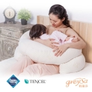 GreySa格蕾莎 哺乳護嬰枕(月亮枕/孕婦枕/哺乳枕/圍欄/護欄-一組兩入)