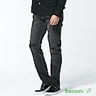 bossini男裝-修身牛仔長褲04黑