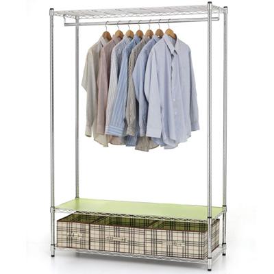 《百變金鋼》120*45*180大型收納衣櫃架
