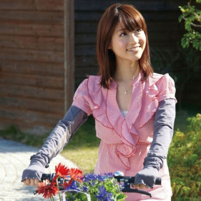 【Sunlead】日系涼感透氣排熱抗UV多機能防曬手套袖套組 (灰色)